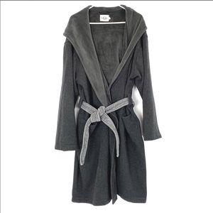 EUC UGG Brunswick Hooded Plush Lined Robe L/XL